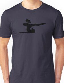 Gymnastics girl ball Unisex T-Shirt