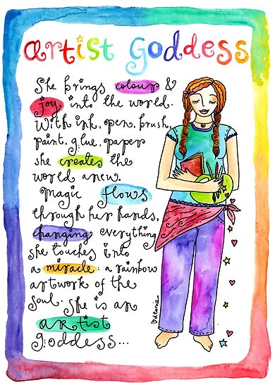 Artist Goddess` by GoddessLeonie
