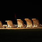 Bangtao Beach by night by Judi Corrigan