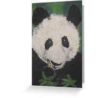 How Much Love can a Panda Bear? Greeting Card
