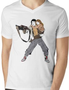 Ripley & Newt Mens V-Neck T-Shirt