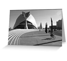 urban scene from Valencia Greeting Card