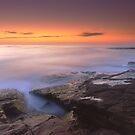 &quot;A Silken Sea&quot;  Merimbula, NSW - Australia by Jason Asher