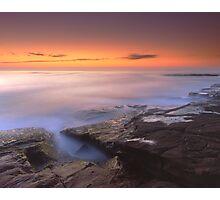 """A Silken Sea"" ∞ Merimbula, NSW - Australia Photographic Print"