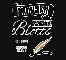 Flourish & Blotts. Unisex T-Shirt