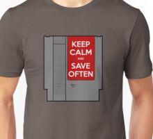 Keep Calm, Save Often Unisex T-Shirt