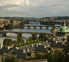 Bridges of Prague by katta