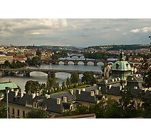Bridges of Prague Photographic Print