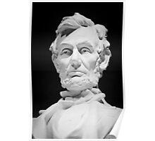 Lincoln Memorial Statue Poster