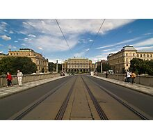 street view from Prague Photographic Print