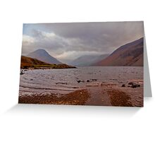 Choppy Waters - Wastwater Greeting Card