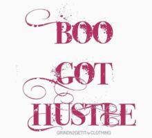 """BOO GOT HUSTLE"" GRINDN2GETIT TM LADIES One Piece - Short Sleeve"