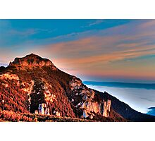 mountain peak Ceahlau Toaca Photographic Print