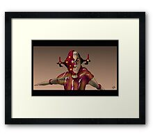 Camera Cyborg Framed Print