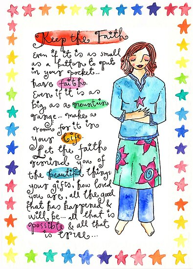 Keep The Faith by GoddessLeonie