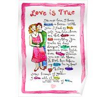 Love Is True Poster