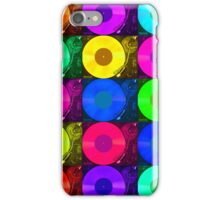Technics 2010 Multi Colour iPhone Case/Skin