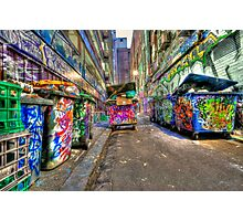 Hoiser Lane Photographic Print