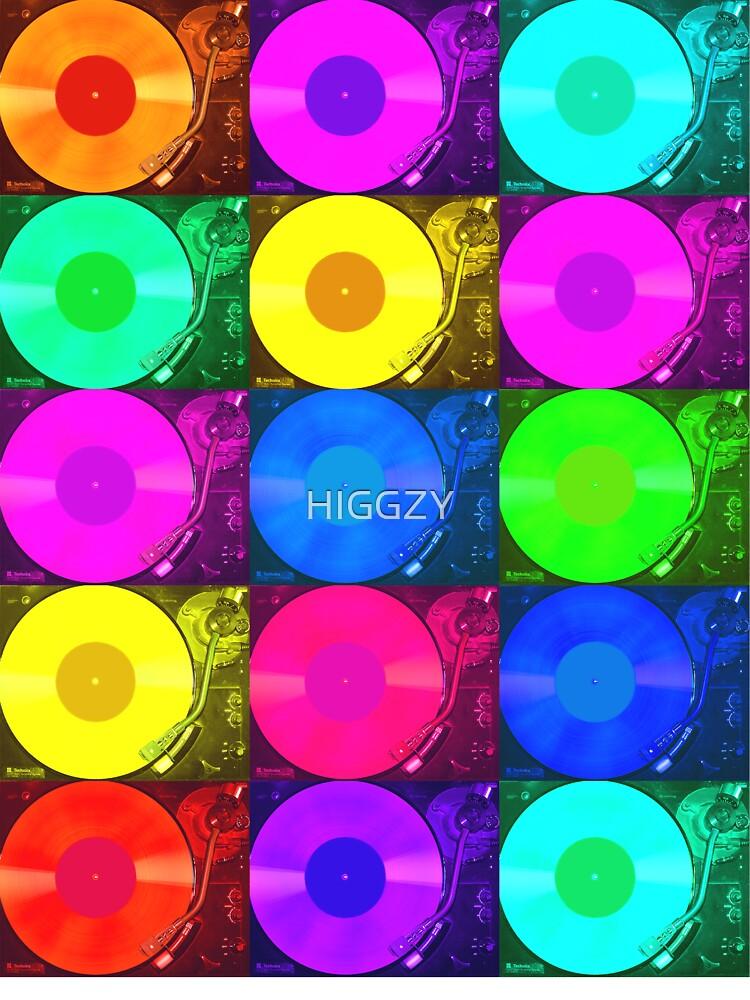 Technics 2010 Multi Colour by HIGGZY