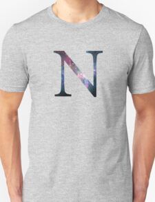 Nu Greek Letter  T-Shirt