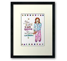 Pyjamas Are A National Uniform Framed Print