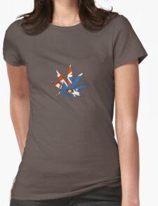 Aussie Cannabis Leaf Womens Fitted T-Shirt
