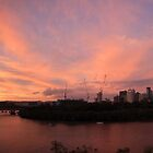 Brisbane Sunset by Tim Harper