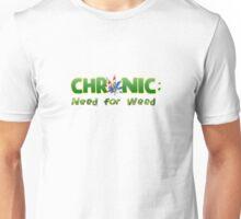 Chronic: Need for Weed Logo Unisex T-Shirt