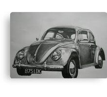 Classic VW Beetle Canvas Print
