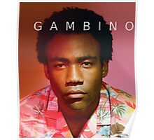 Childish Gambino Because The Internet Poster