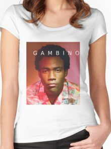 Childish Gambino Because The Internet Women's Fitted Scoop T-Shirt