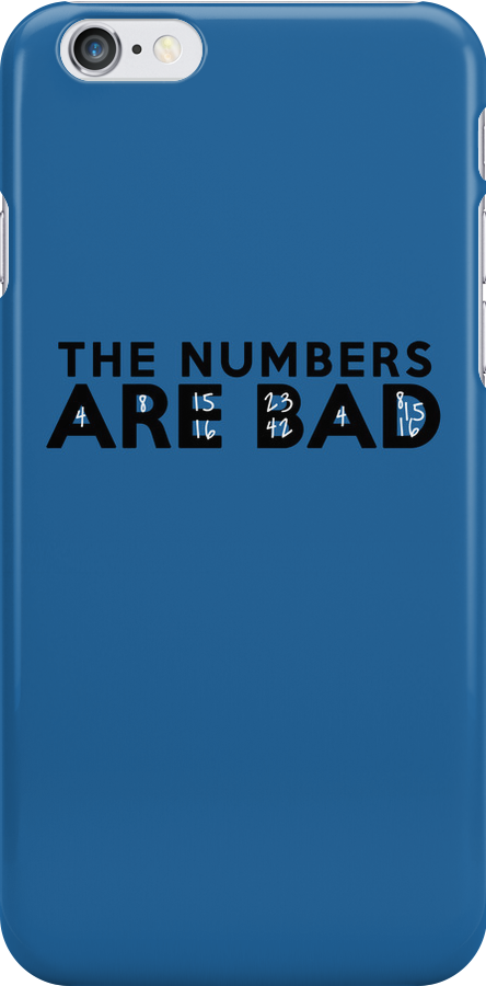 The Numbers Are Bad by lonelyrainbows