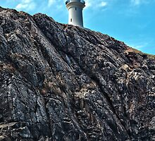 South Solitary Island Lighthouse by Normf