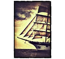 Royal Clipper Masted Ship Photographic Print