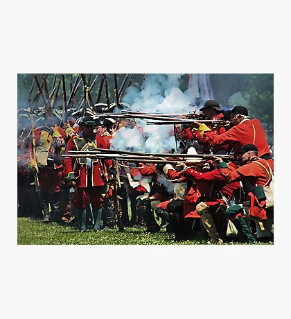 The Red Coats Photographic Print