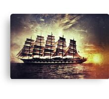 Royal Clipper Masted Ship Canvas Print