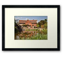 Flatford mill Framed Print