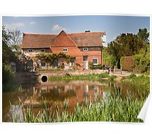 Flatford mill Poster