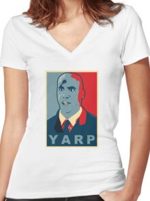 Yarp Women's Fitted V-Neck T-Shirt