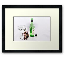 Relax , high Key Framed Print