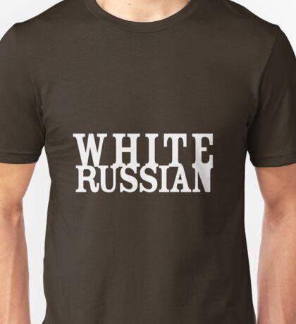White Russian, White Heat Unisex T-Shirt