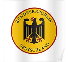 Bundesrepublik Deutschland, Cold War Sign, Germany Poster