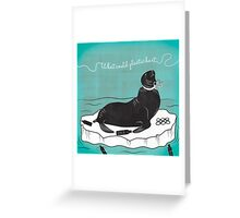 Anti-Plastic Seal Greeting Card