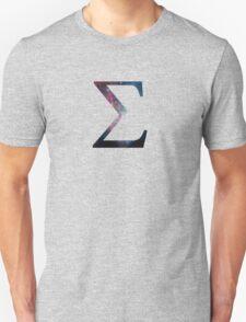 Sigma Greek Letter Unisex T-Shirt