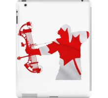 Canadian Bow Hunter iPad Case/Skin