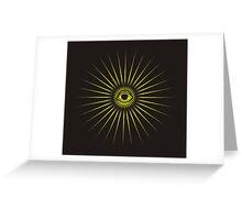All seeing eye Greeting Card