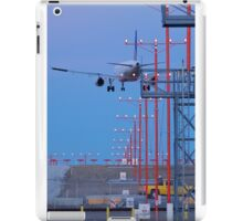 Approaching OHare iPad Case/Skin