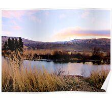 River View - Okanogan, Washington Poster