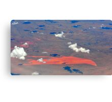 Western Australia at 10 km height Canvas Print
