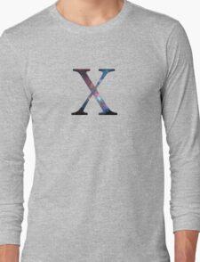 Chi Greek Letter Long Sleeve T-Shirt